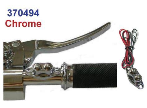 Chrome Custom Dual Micro Handlebar Switch Cnc Billet
