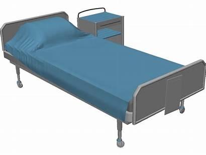 Hospital Bed Beds Clipart Clip Cartoon Cliparts