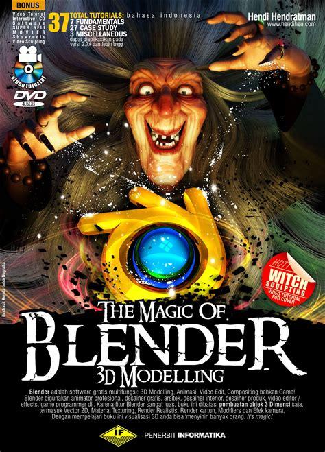belajar blender dasar blender  tutorial buku blender