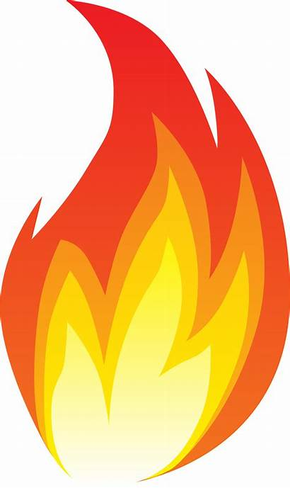 Fire Flame Clipart Line Graphics Transparent Scalable