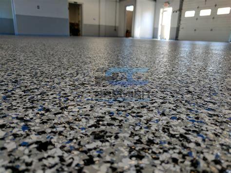 Epoxy Flake Flooring Columbus, Ohio  Premier Concrete