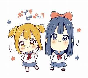 sakura oriko pop team epic pipimi popuko chibi seifuku ...