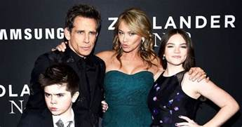 nyc engagement rings ben stiller brings family to 39 zoolander 2 39 premiere photos us weekly