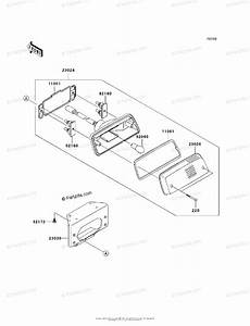 Kawasaki Atv 2006 Oem Parts Diagram For Taillight S