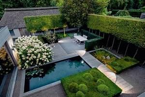 Terrasse de jardin moderne planification et conception for Amenager un jardin rectangulaire 2 terrasse de jardin moderne planification et conception