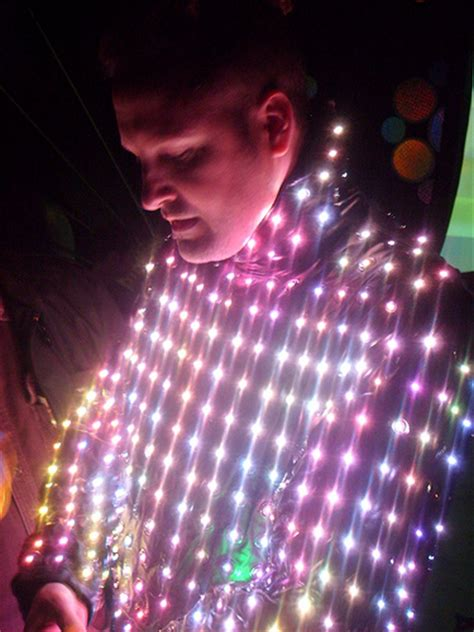 led light suit bunny in his led suit todd thille flickr