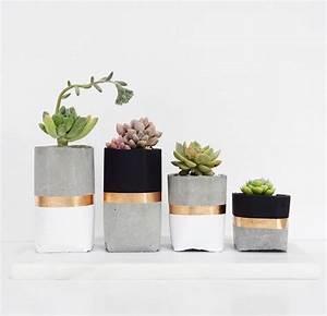 Große übertöpfe Für Zimmerpflanzen : die 25 besten ideen zu beton pflanzer auf pinterest betont pfe zement t pfe und ~ Bigdaddyawards.com Haus und Dekorationen