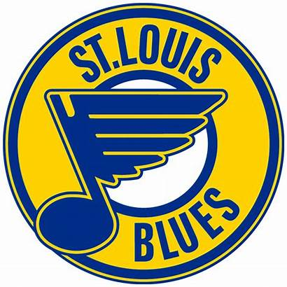 Blues Louis St Logos Hockey Nhl Primary