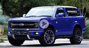 New Ford Bronco concept  This is what it looks like!!!