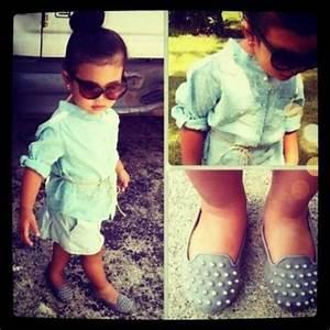 Baby hipster girl clothes idea!