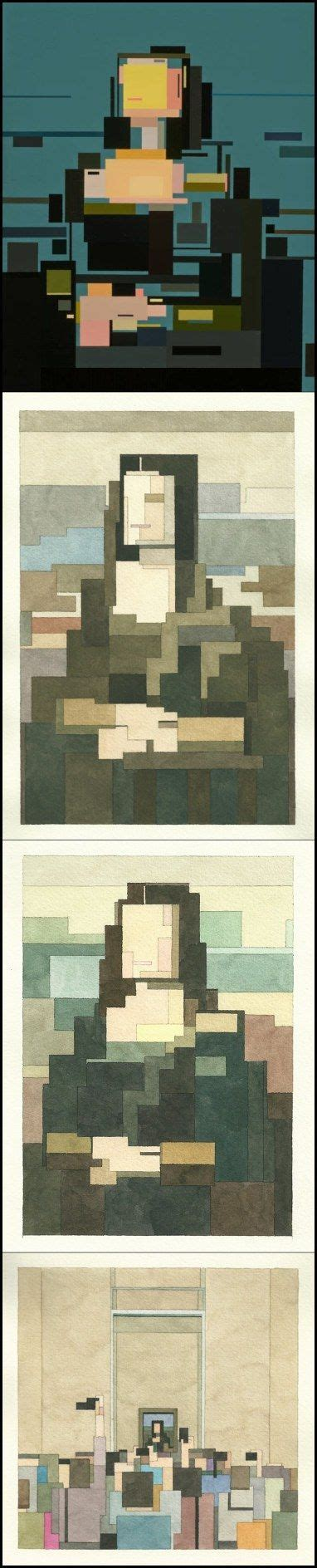 Best Images About Deconstructing Mona Lisa On Pinterest Lego Warhol And Pop Art
