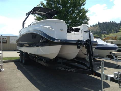 Used Pontoon Boats Kamloops by Unique Pontoon Boat Stolen During Kelowna Robbery Infonews