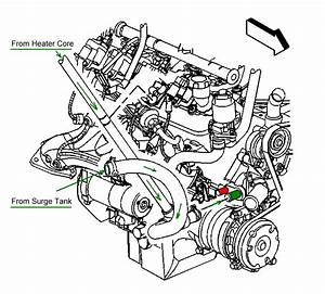 1999 Chevy Silverado Heater Core Diagram