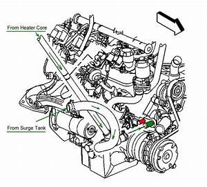 2003 Chevy S10 Heater Hose Diagram