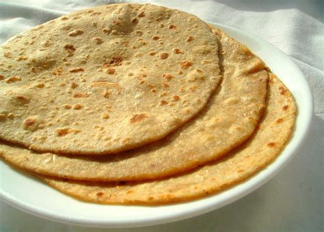 Baking barley bread reminds me of my childhood. Priya's Versatile Recipes: Barley Chappathi