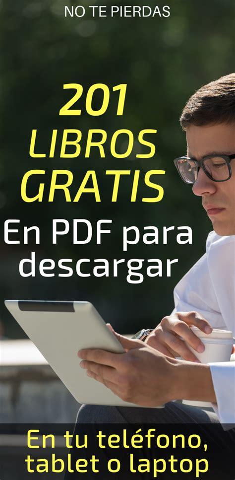 libreria gratis pdf los mejores 201 libros en pdf para descargar gratis