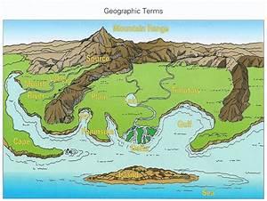Landforms Map