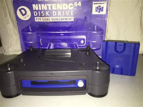 Rare Nintendo 64dd Disk Drive Prototype For The Us