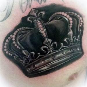 100 Crown Tattoos For Men - Kingly Design Ideas