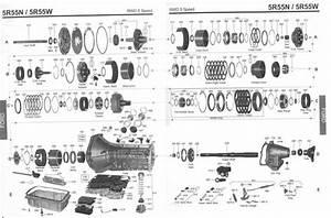 5r55s  5r55w Transmission Repair Manuals