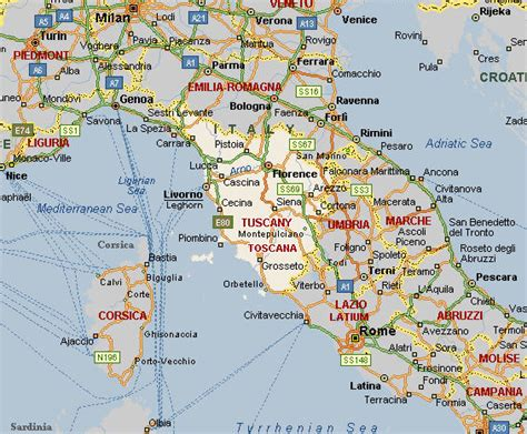 road maps tuscany route planner city maps travel