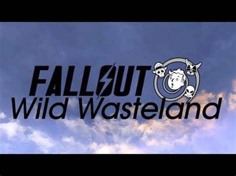 Fallout Wild Wasteland  Trailer  Minecraft Roleplaying