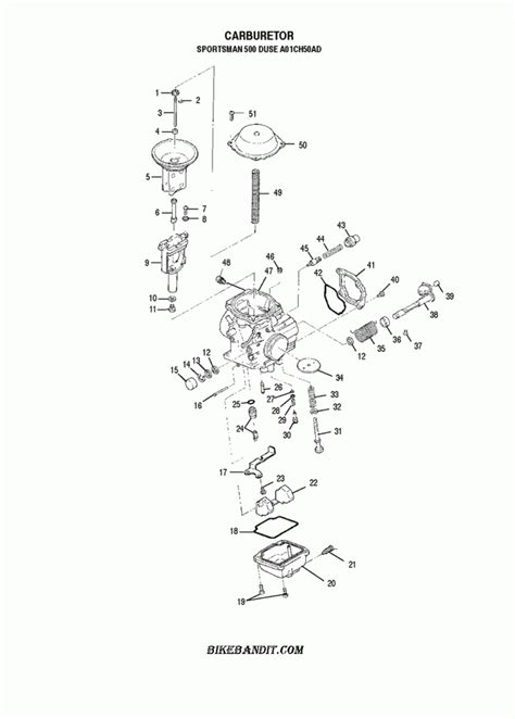 Polari Trailblazer 250 Part Diagram by 2001 Polaris Ranger 500 Parts Diagram Jidimotor Co