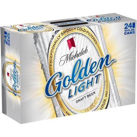 michelob golden light michelob golden light draft 12 fl oz 24 pack