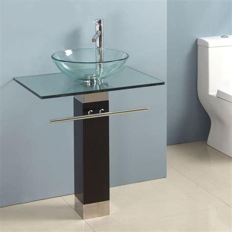 Bathroom Vanities With Bowl Sinks by Modern Bathroom Sinks Bowls Transparent Bowl Bathroom