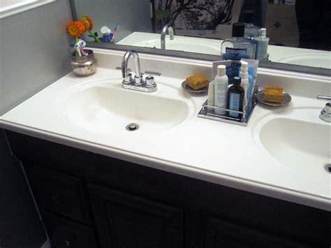 187 refinishing the bathroom vanity top part 2 julepstyle