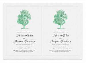 printable wedding invitation tree invitation templates With free printable tree wedding invitations