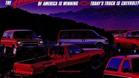 chevrolet truck ad  sharper image