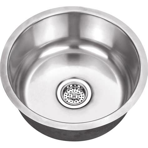 round stainless steel sink platinum sinks 17 inch round 18 gauge stainless steel