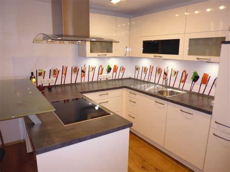 Ansprechend Glaswand Kuche Design by Tolle Glaswand K 252 Che Anbringen Design 1339