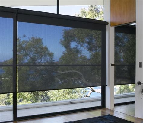 motorized solar shade roller blinds supplier elite wf