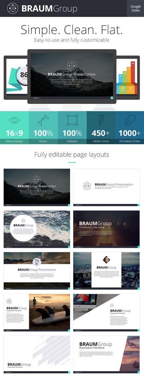 Braum Google Slides Presentation Template Free Download by 15 Best Google Slides Presentation Themes Premium