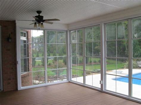 Sunroom Windows by Vinyl 4 Track Sunroom Systems Sunroom Addition Sunroom