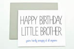Funny Happy Birthday Little Brother
