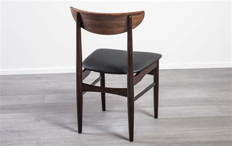 danish  rosewood beech dining chairs