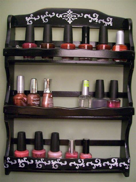 Spice Rack For Nail by 17 Best Images About Nail Storage Organization
