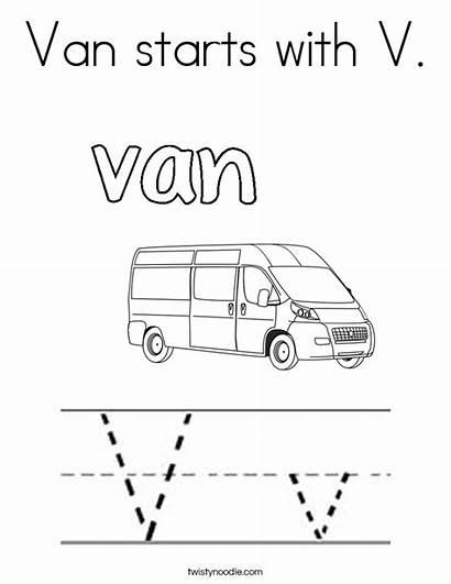 Coloring Van Starts Built California Usa Twistynoodle