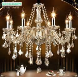 aliexpress com buy cognac modern crystal chandelier 8