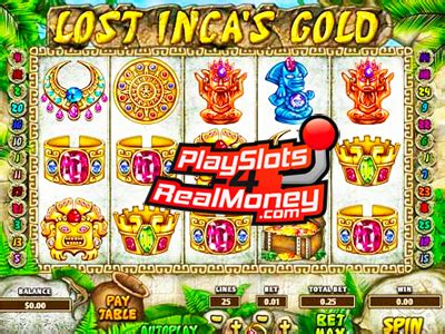 Lost Incas Gold Slots Reviews  Enjoy The Best Slot Machines
