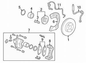 Chevrolet Spark Abs Wheel Speed Sensor  Brake