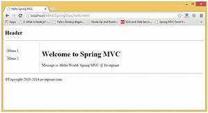spring mvc tiles example javatpoint gtgt 18 great spring With spring jsp template