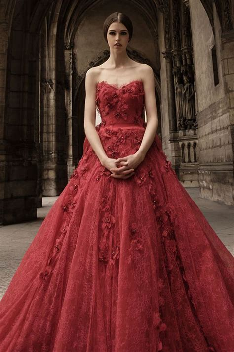 Best 20 Red Wedding Gowns Ideas On Pinterest Red