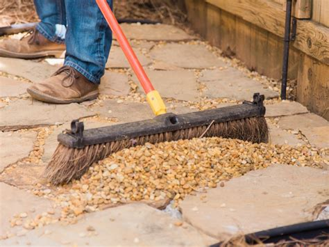 how to install flagstone how to lay a flagstone pathway how tos diy