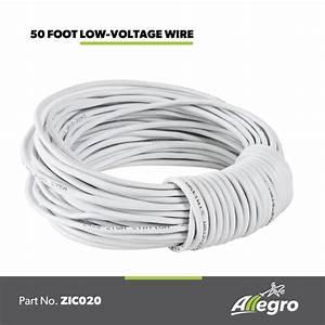 Allegro Central Vacuum Low Voltage Installation Wire