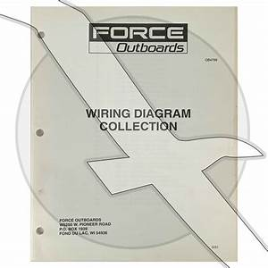 Force Outboard Wiring Diagram Collection Factory Oem