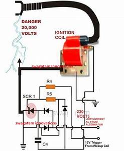 Simple Capacitive Discharge Ignition  Cdi